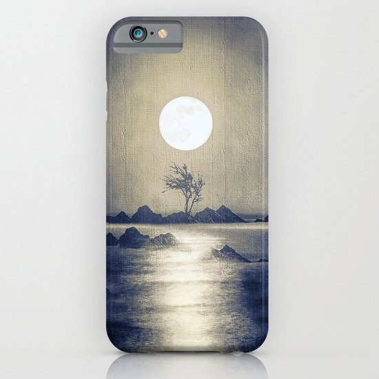 When the moon speaks (part III) colour option iPhone & iPod Case