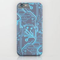 iPhone & iPod Case featuring 1982 Blue by Leigh Wortley