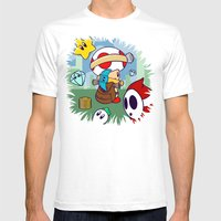 Treasure Tracked: Captain Toad's Fortune (Alt Version: No Text) Mens Fitted Tee White SMALL