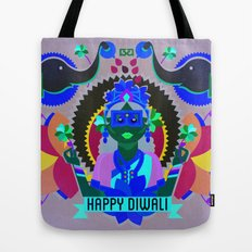 Goddess Lakshmi from India Tote Bag