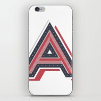 The Letter A iPhone & iPod Skin