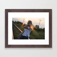 Wherever The Winds Take … Framed Art Print