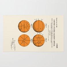 Basketball Patent Rug