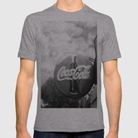 Coca Cola  Mens Fitted Tee Athletic Grey SMALL