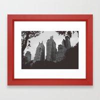 E S S E X {I} Framed Art Print