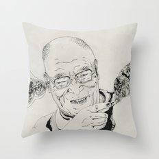 Dalai Lama Throw Pillow