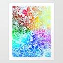Flying Through Rainbows Art Print