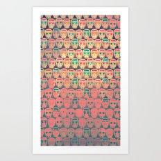CALAVERITAS Art Print