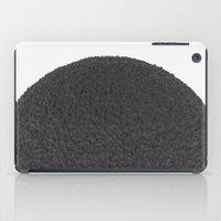 Black sphere iPad Case