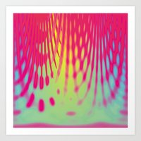 tie-dye party Art Print