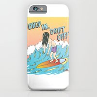 iPhone & iPod Case featuring Drop In, Drift Off! by Great North Eastern