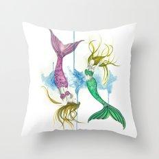 Zodiac - Pisces Throw Pillow