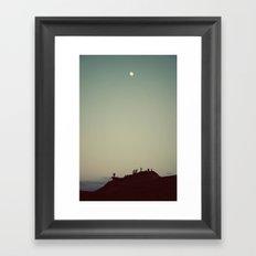 It Never Fades Framed Art Print