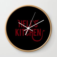 Devil of Hell's Kitchen Wall Clock