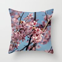 Little Buzzy Throw Pillow