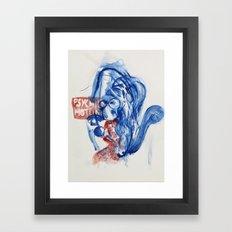 dial-a-psychic Framed Art Print