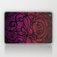 Scarred Rose Laptop & iPad Skin
