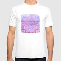 Parting is such bitter sweet sorrow - Romeo & Juliet Quote Mens Fitted Tee White SMALL
