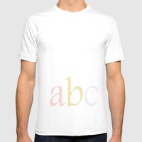 ABC Mens Fitted Tee White SMALL