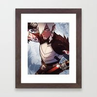 Little Wolf Framed Art Print