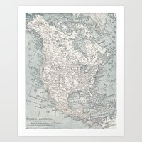 North America Art Print
