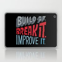 Build it. Break it. Improve it. Laptop & iPad Skin