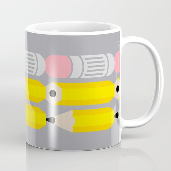 Deconstructed Pencil Mug