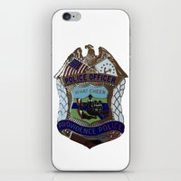 Providence Police [white… iPhone & iPod Skin