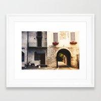 Bergamo Framed Art Print