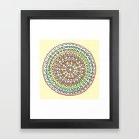 Aztec Trek Framed Art Print