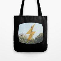 TV Danger Tote Bag