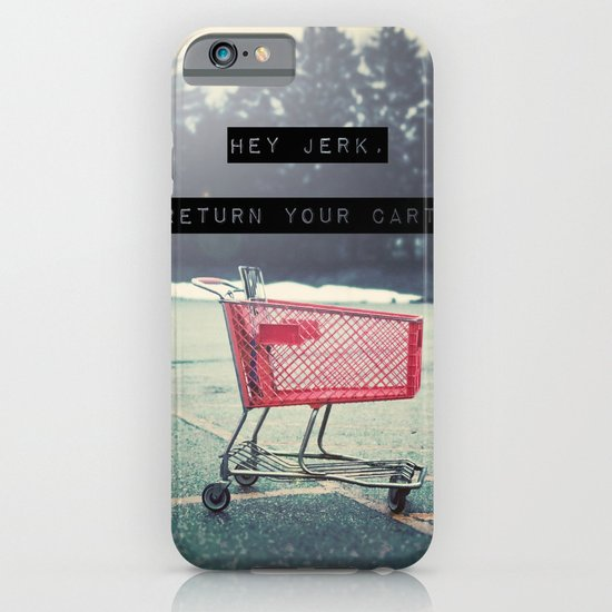 Grocery Cart Rage  iPhone & iPod Case