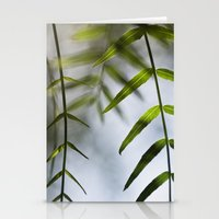Fresh Leaves Stationery Cards
