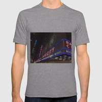 Radio City Music Hall Mens Fitted Tee Athletic Grey SMALL