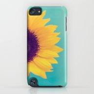 Sunflower iPod touch Slim Case