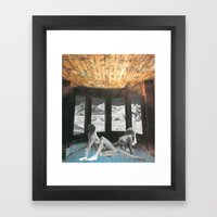 The Day Before The Last Framed Art Print