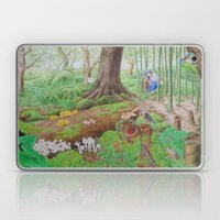 A Day Of Forest (4). (th… Laptop & iPad Skin