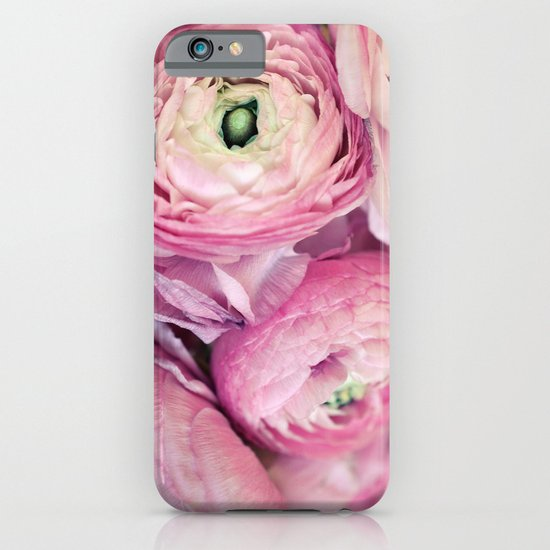 Pink Ranunculus iPhone & iPod Case