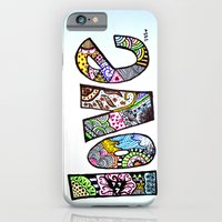 iPhone & iPod Case featuring love is all you need. (color) by Starr Shaver