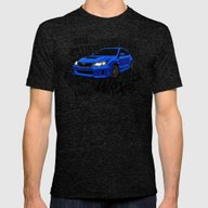 WRX Mens Fitted Tee Tri-Black SMALL