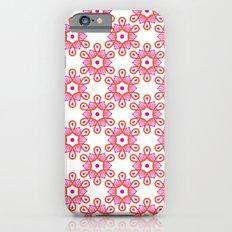 Citrus Morning Mandala iPhone 6 Slim Case