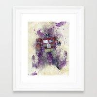G1 - Optimus Prime Framed Art Print