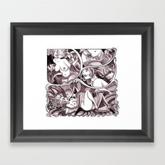 Chester 5000 page 15 Framed Art Print