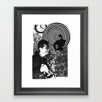 Spiraling Hopes Framed Art Print