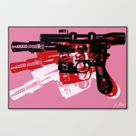 Canvas Print featuring Blaster by Evan