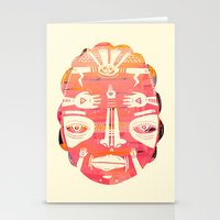 Cloud Face I Stationery Cards