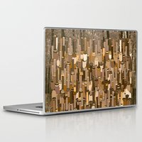 community Laptop & iPad Skins featuring Fortified Community by Tony M Luib