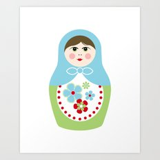 Matryoshka Doll 2 Art Print