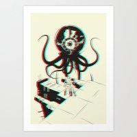 3D Adventure Art Print