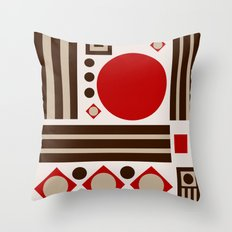 Belgian Chocolate Throw Pillow